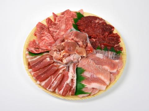 お肉を選ぶ